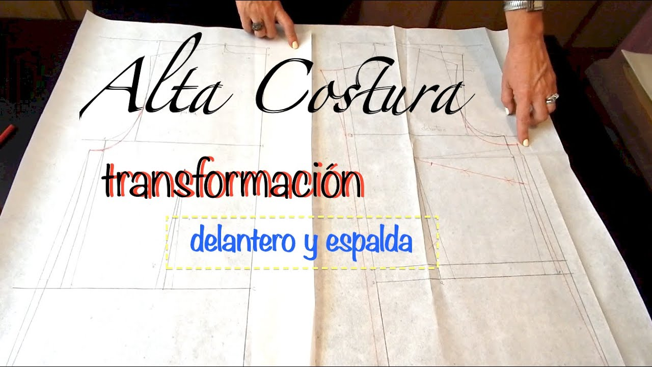 Alta Costura Clase 50A, Blusa Cuello Sport con mangas y pinzas - YouTube