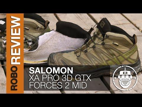 Robo Airsoft: Robo Gear Review Salomon XA Pro 3D Forces 2