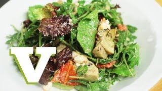 Artichoke, Sun Blushed Tomato And Goats Cheese Salad: City Suppers S01e4/4