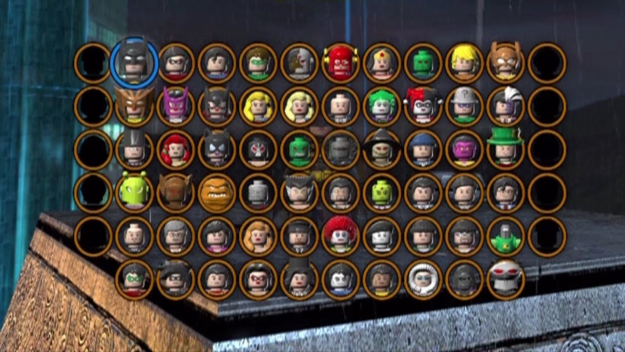 Lego Batman 2 Dc Superheroes All Characters Unlocked Youtube