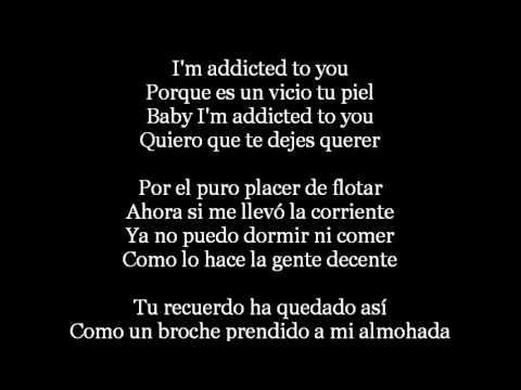 Shakira - Addicted to you Lyrics