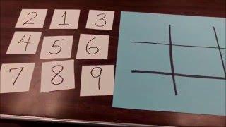 """Tic-Tac-Toe Mathematics""  Super Fun!!!"