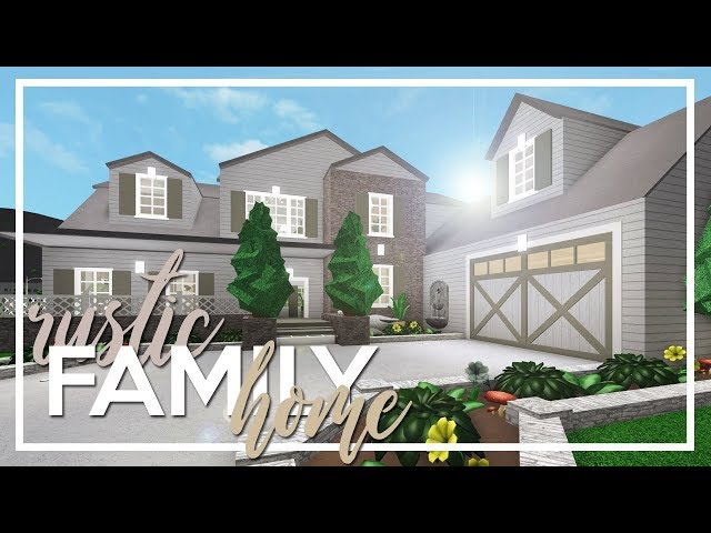 Welcome to Bloxburg: Rustic Family Home (138k)