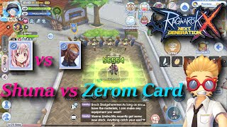 Shuna Card vs Zerom Card | rox | Ragnarok X: Next Generation screenshot 5