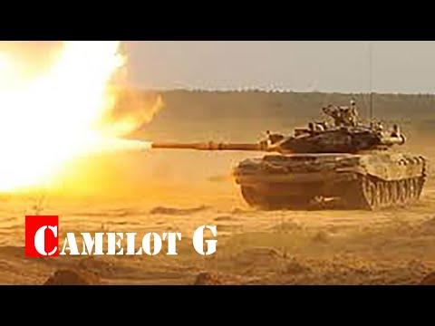 Попадание противотанковой ракеты в движущийся Т-90А. Боевое применение Т-90. Сирия