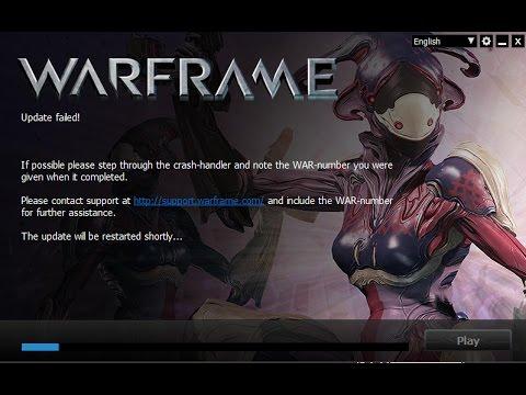 warframe update bug