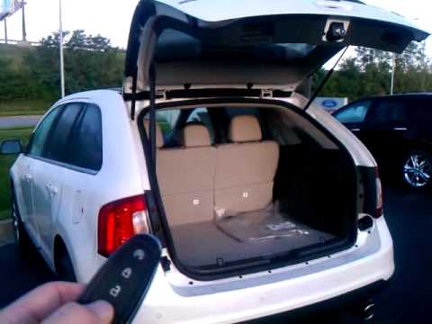 Power Lift Gate 2011 Ford Edge Youtube
