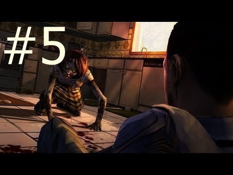 The Walking Dead: Gameplay Walkthrough Part 5 - PHARMACY KEYS (Episode 1 A New Day)