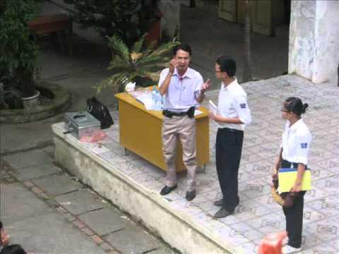 Kỹ năng sống THPT Trần Nhân Tông - Nói Không Bạo lực học đường 10-2010