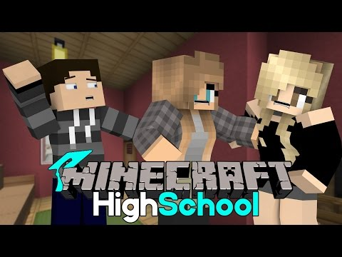 Cat Fight | Minecraft HighSchool [S2: Ep.18 Minecraft roleplay Adventure]