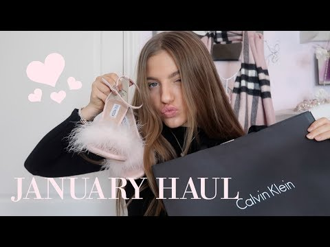 WHAT I BOUGHT IN JANUARY♡ | Grace Foley