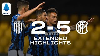 BENEVENTO 2-5 INTER | REAL AUDIO EXTENDED HIGHLIGHTS | A FEARSOME INTER SCORE FIVE GOALS! 🖐🏻⚫🔵