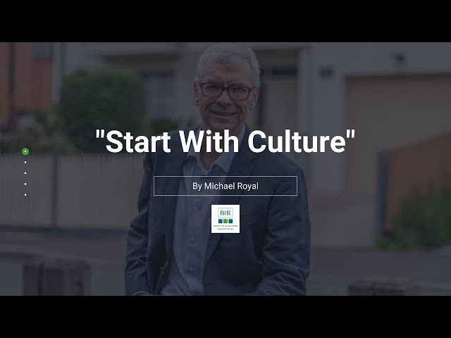 Start With Culture | BIR Solutions