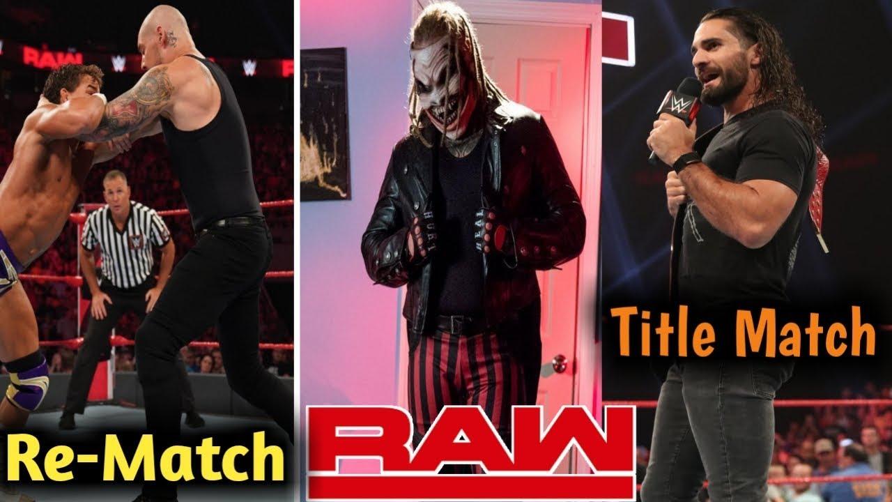 Download WWE Monday Night RAW 23 September 2019 Highlights in Hindi ! Next Week Universal Title Match
