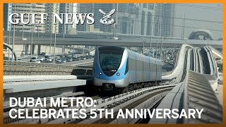 Dubai Metro celebrates 5th anniversary