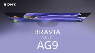 First look: BRAVIA OLED AG9 Master Series TV