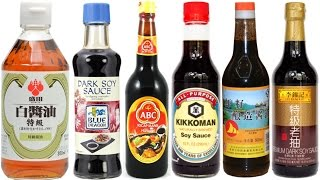 Different Types of Soy Sauce Explained