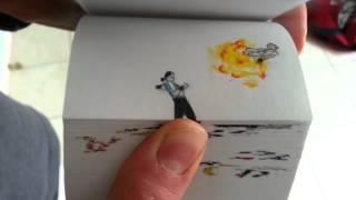 Mortal Kombat Flipbook De Etoilec1Jax vs Shang Tsung