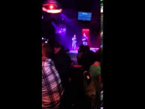 Me and buddy singing dust on bottle clip karaoke