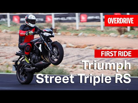 2020 Triumph Street Triple RS | First Ride Review | OVERDRIVE