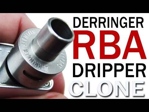 Derringer RDA Dripper Fantastic Vape from this Rebuildable Dripping Atomizer clone