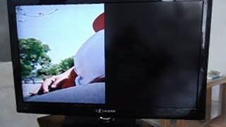 TV LCD BUSTER com Imagem dividida ou Efeito Cortina: Como restaurar o display!