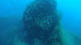 Fishing Boat's Lost Net Underwater