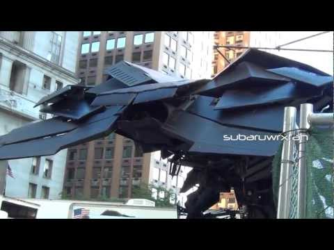 The BAT SUPER Close-Up! Details!! (The Dark Knight Rises)