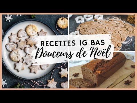🎄sablés-de-noël-et-pain-d'épices-ig-bas-:-recette-facile-et-rapide---gâteau-et-biscuits-healthy-noël
