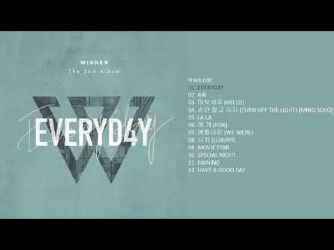 [Full Album] WINNER - EVERYD4Y | The 2nd Album — TRACKLIST