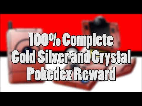 Pokemon Gold, Silver, Crystal - What IS The Reward For A Complete Pokedex?
