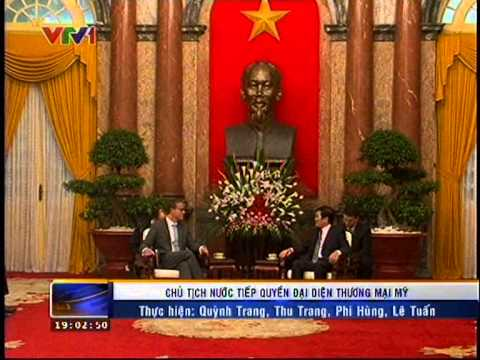 Acting U.S. Trade Representative Meets with Vietnamese President