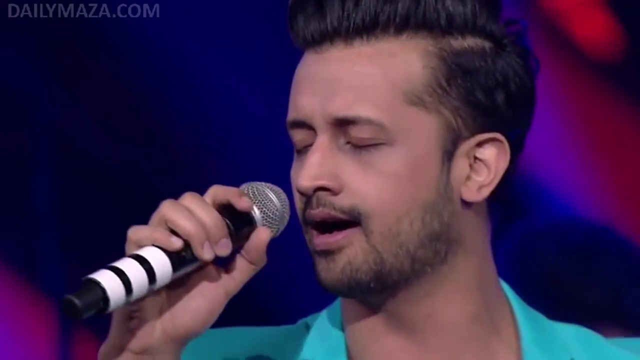 Download Atif Aslam's Heart Touching Performance   Live at Star GIMA Awards 2015   Full HD Video