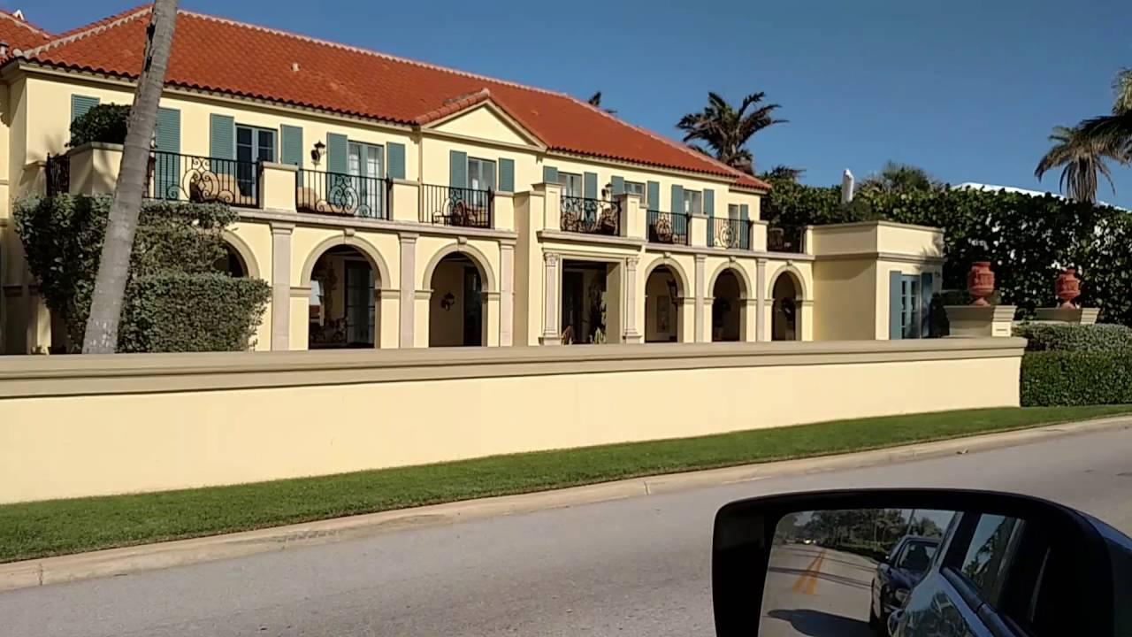 West Palm Beach Celebrity Home Tour Island Mountain Pat Tv