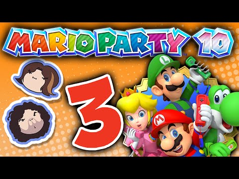 Mario Party 10: Rotten Peaches - PART 3 - Game Grumps VS