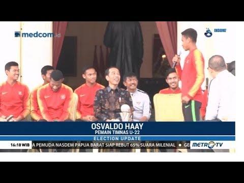 Saat Garuda Muda Curhat Ke Jokowi