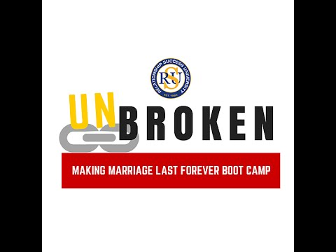 Chicago UnBroken: Making Marriage Last Boot Camp