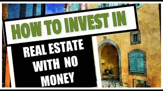 Investing in Real Estate w No Money For IQD Holder