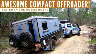 Maverick Raptor 13: Awesome offroad caravan in the bush