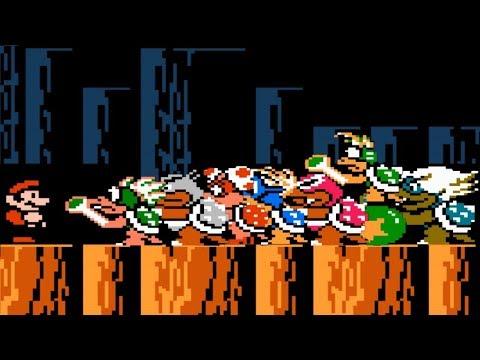Super Mario Bros 3 - All Final Castles