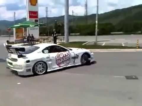 Street Toyota Supra Drifting Amazing Youtube