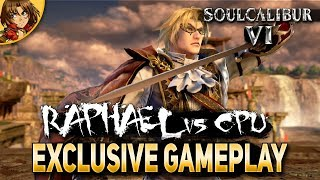 SoulCalibur 6 Raphael Gameplay vs CPU Final Version