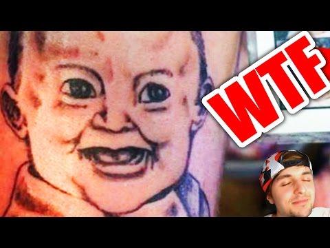 Tatuajes Horribles Mal Hechos Youtube