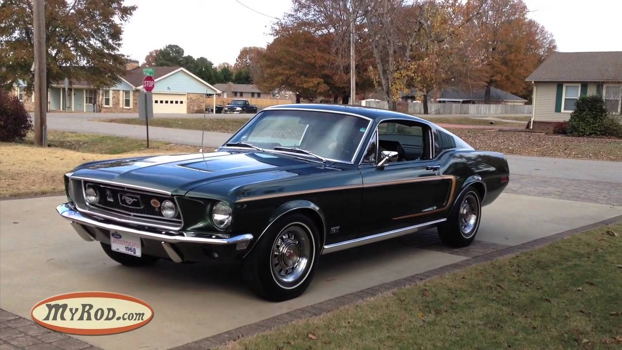 Picked up the ultimate 1968 mustang gt fastback myrod com blog youtube