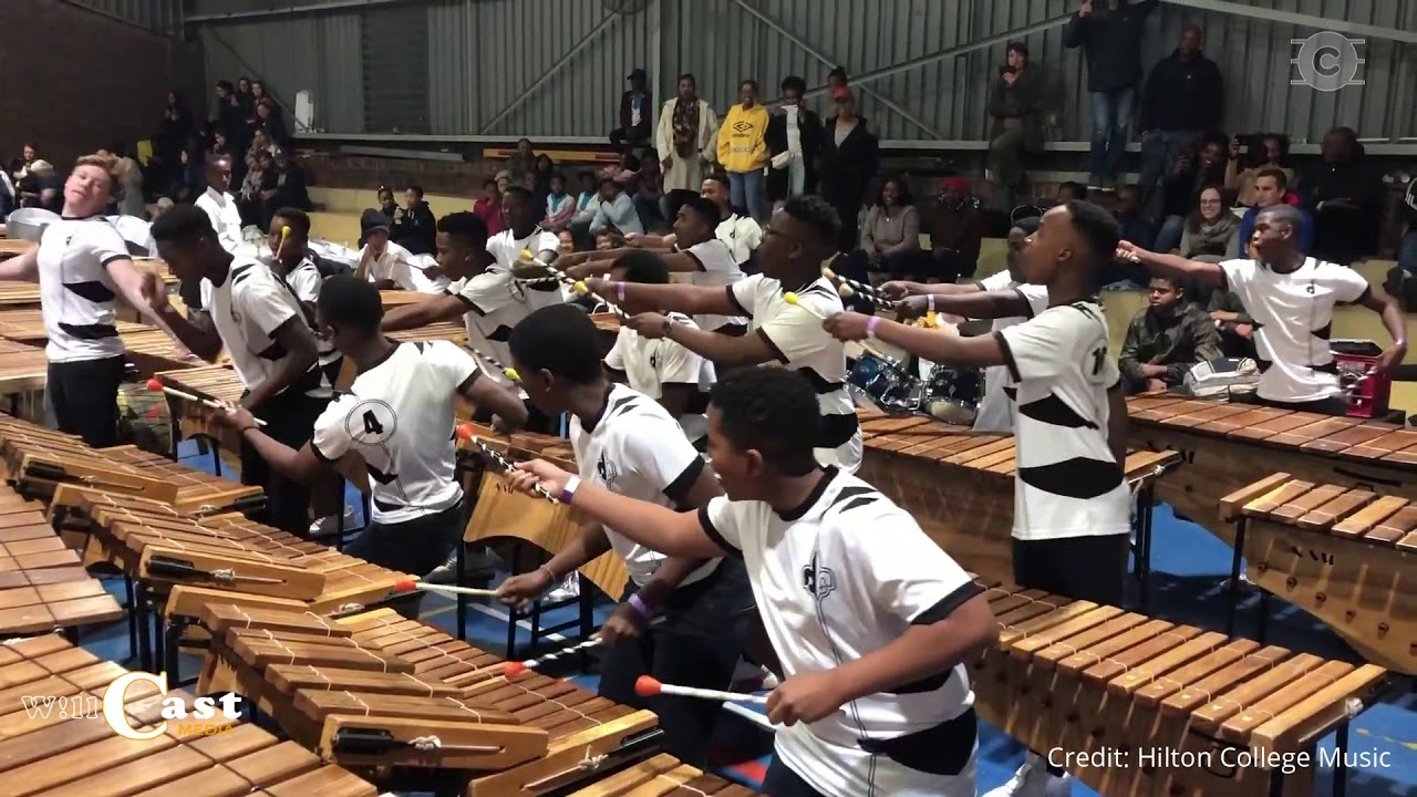 "Resultado de imagem para ""Drive"" (as orig. performed by Black Coffee/Guetta)- 2019 Hilton College Competition Marimba band."