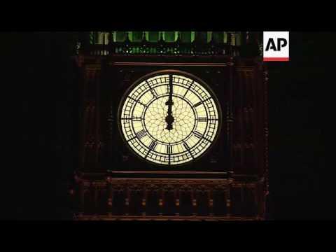 Big Ben at midnight as UK starts Brexit process