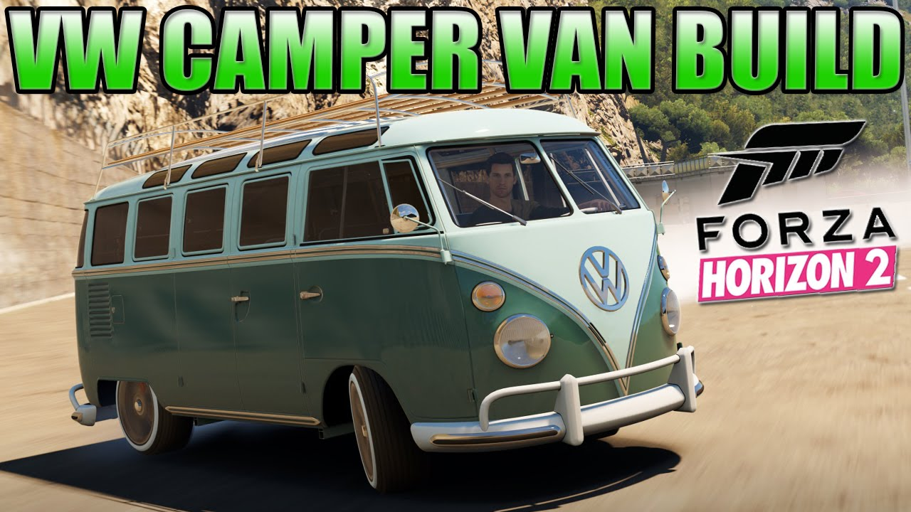 Camper Cars Forza Horizon 2 Custom Cars 2 Vw Camper Van Cool Drifting