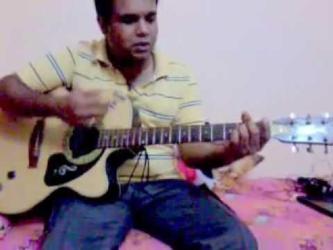 Kal ho na ho guitar lesson - YouTube