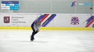 Соревнования по фигурному катанию на коньках Памяти М В Саная День 2