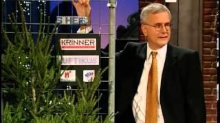 Die Harald Schmidt Show - Folge 1019 - 2001-12-20 - Heike Makatsch, Christbaumständer